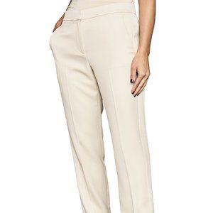 "Reiss BNWT Cream ""Farah Tux"" side zip pants NEW"